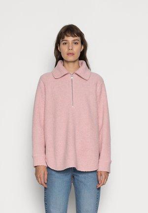 Fleece jumper - pink