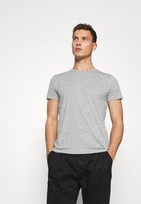 LTB - 2 PACK  - Basic T-shirt - grey mel/grey mel - 2