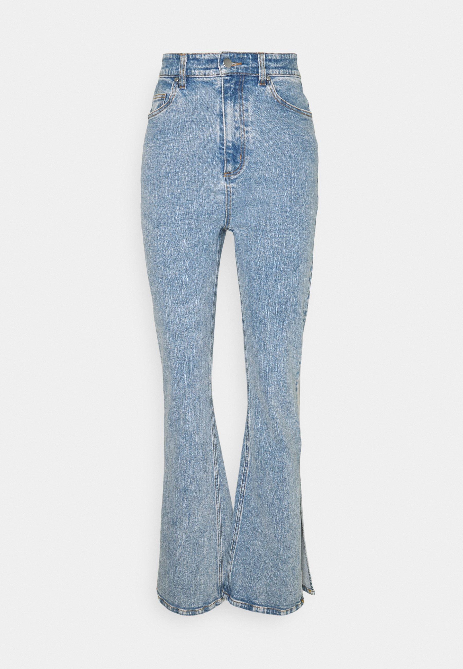 Women SPLIT SIDE JEAN - Flared Jeans