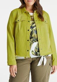 Samoon - Denim jacket - citronella - 1