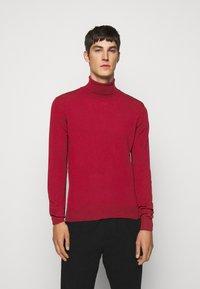 J.LINDEBERG - LYD - Stickad tröja - chili red - 0