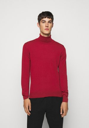 LYD - Stickad tröja - chili red