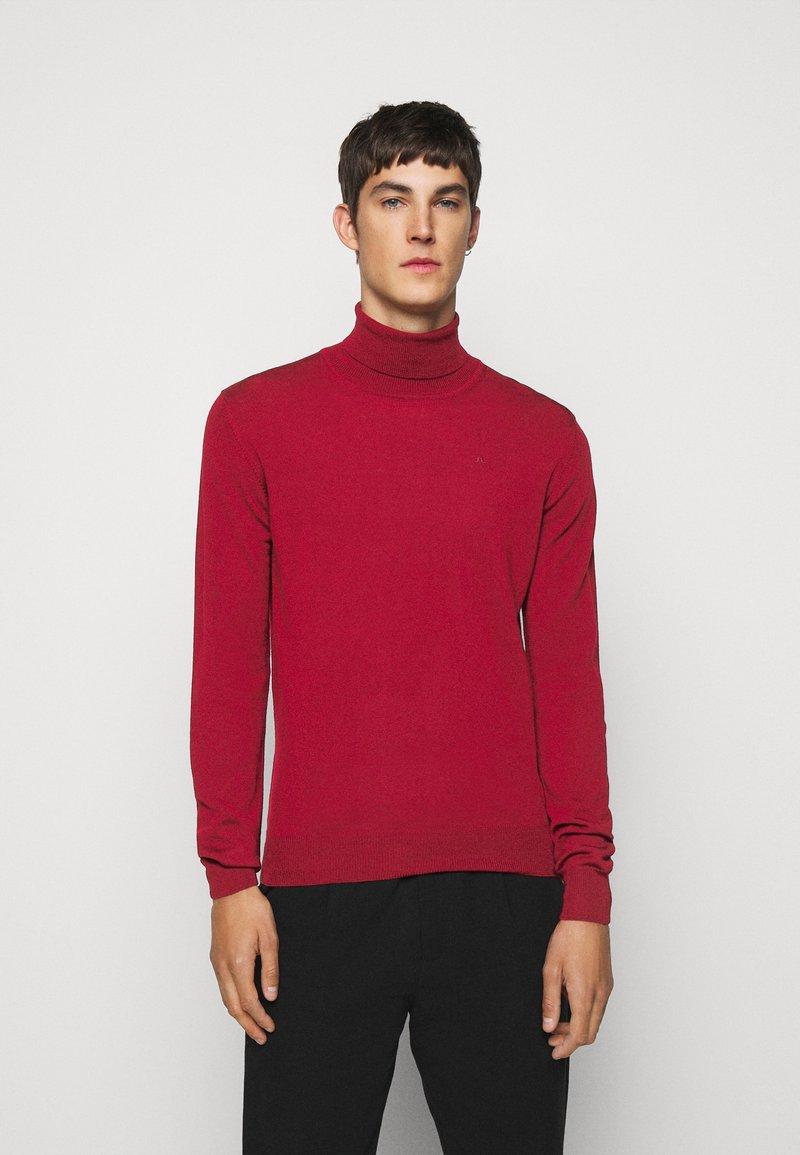 J.LINDEBERG - LYD - Stickad tröja - chili red
