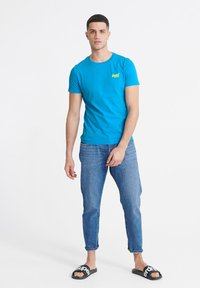 Superdry - NEON LITE TEE - Basic T-shirt - electric blue - 1