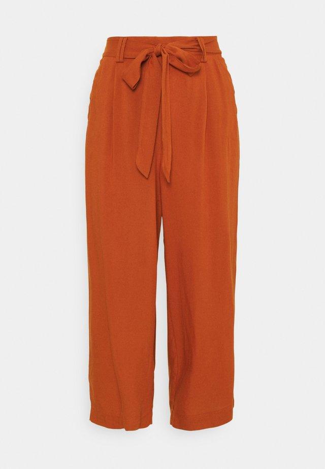 ONLNOVA LIFE CROP PALAZZO PANT - Pantalon classique - arabian spice