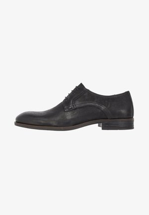 DERBY - Smart lace-ups - black