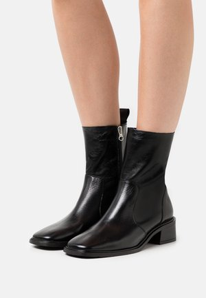 Classic ankle boots - black groucho