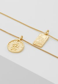 Pilgrim - NECKLACE VALKYRIA 2 PACK - Ketting - gold-coloured - 4