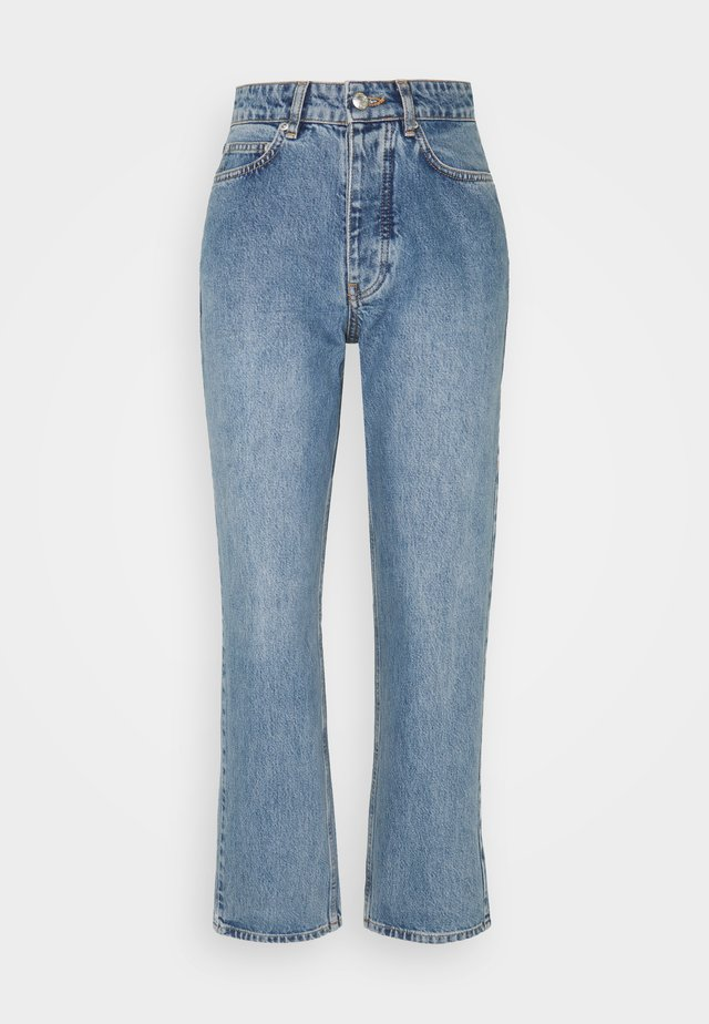 PEARL  - Straight leg jeans - distressed blue