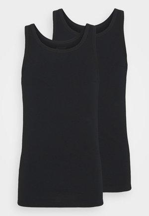 2 PACK  - Undershirt - schwarz
