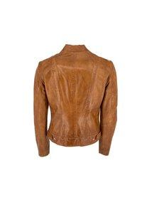 Milestone - Leather jacket - cognac - 1