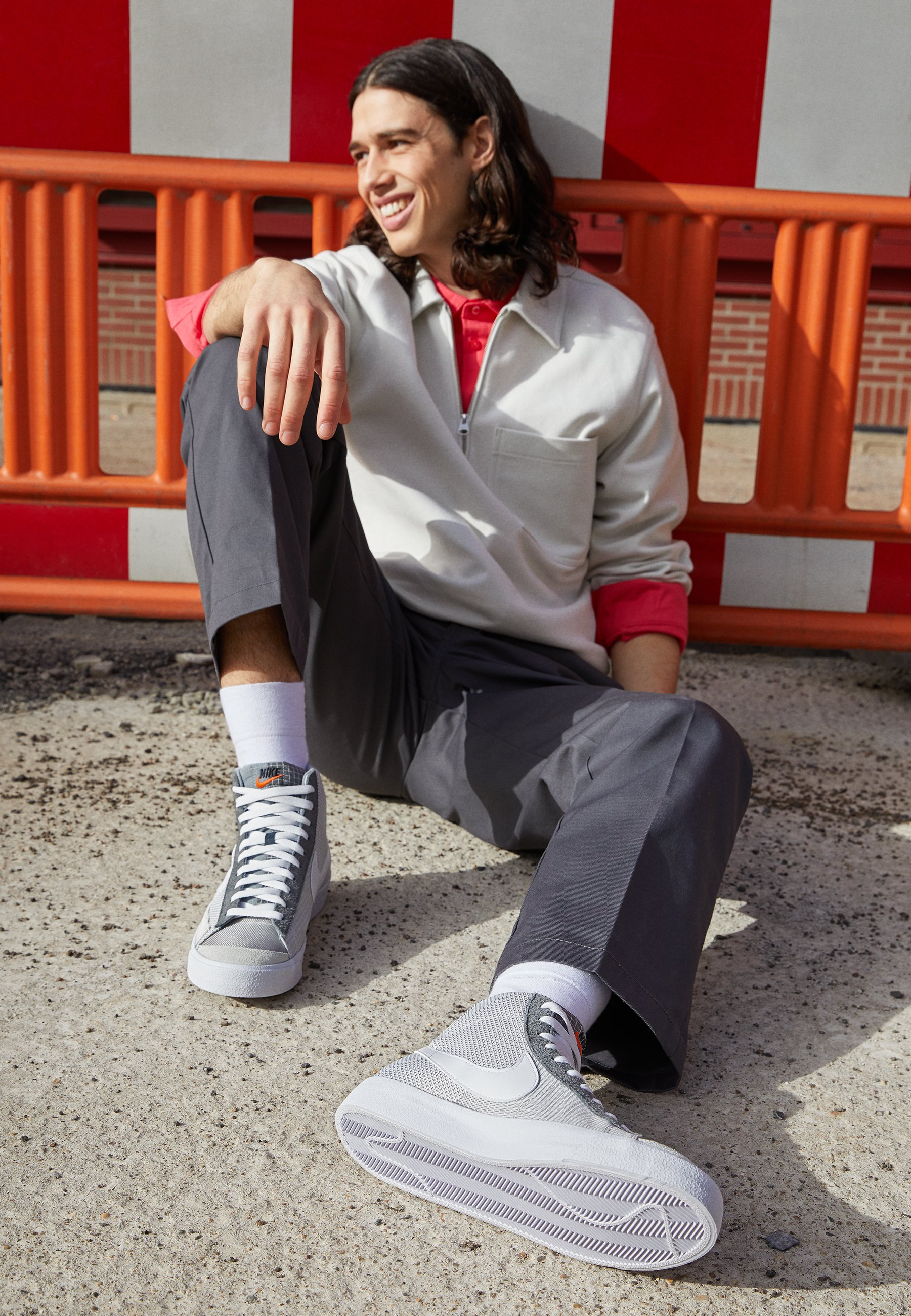 Men BLAZER MID '77 PATCH - High-top trainers