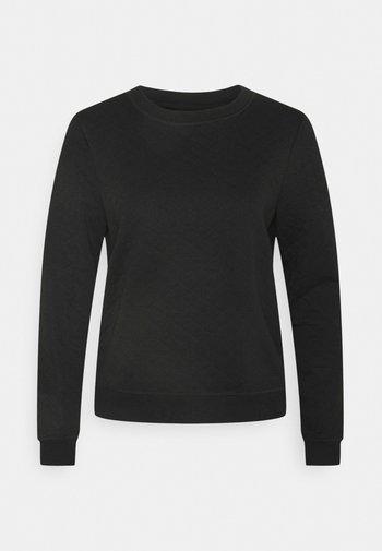 ONLJOYCE O-NECK  - Sweatshirt - black