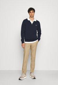 Lacoste - Stickad tröja - navy blue - 1