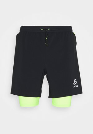 AXALP TRAIL 6 INCH 2-IN-1 SHORTS - Träningsshorts - black