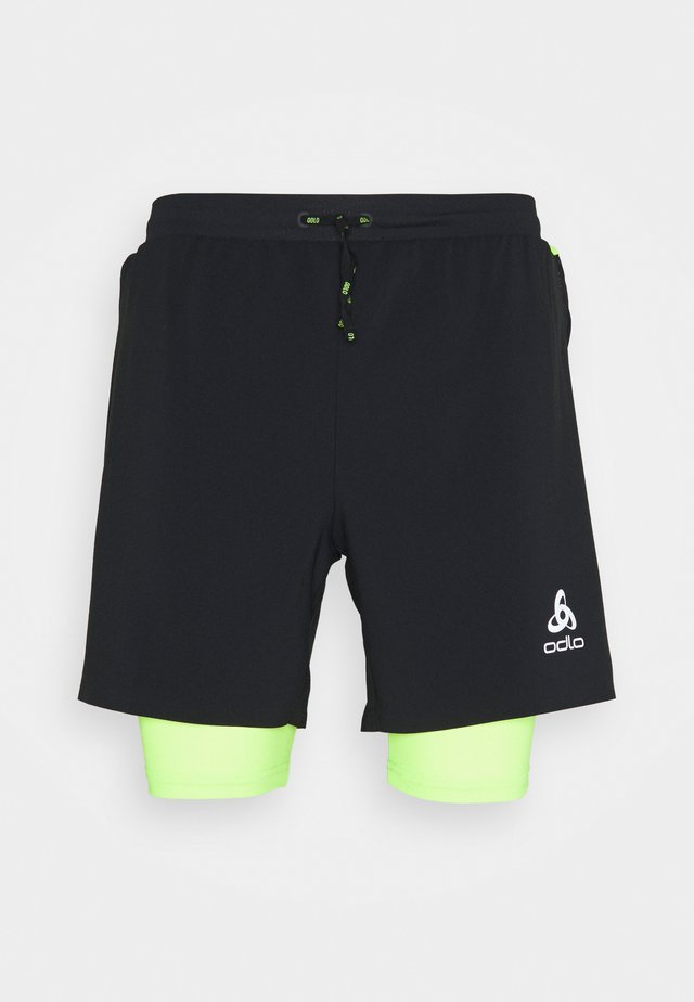 AXALP TRAIL 6 INCH 2-IN-1 SHORTS - Pantaloncini sportivi - black