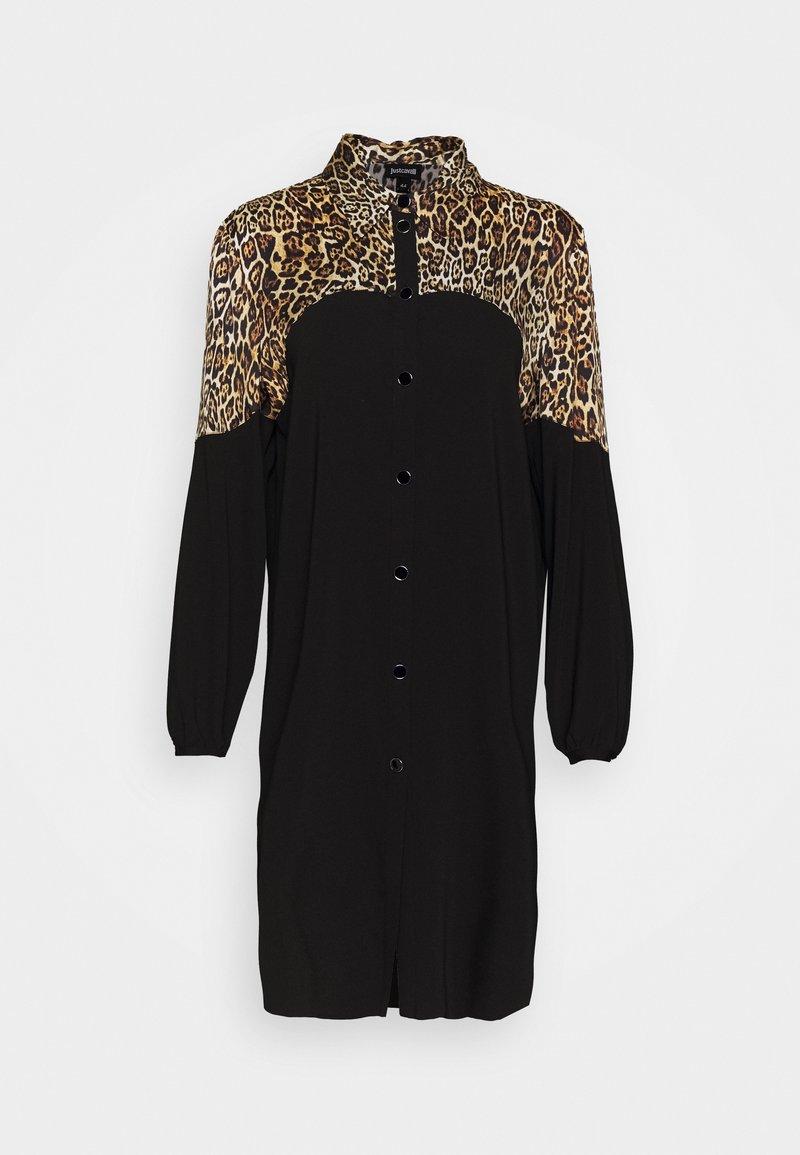 Just Cavalli - Košilové šaty - natural variant