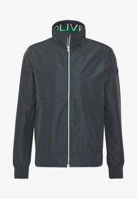 s.Oliver - Summer jacket - grey/black - 3