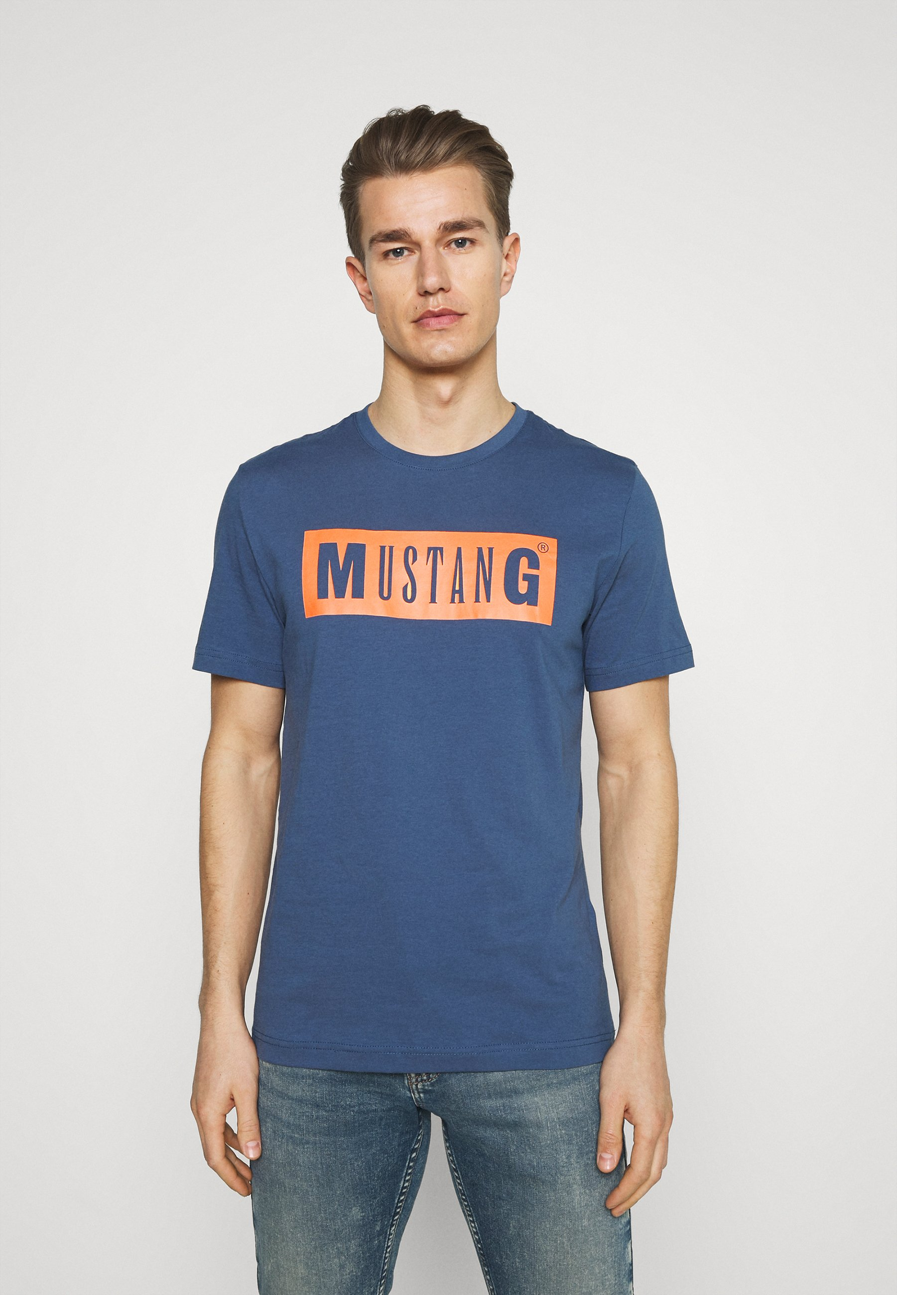 Men ALEX LOGO TEE - Print T-shirt
