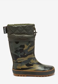Next - CUFF WELLIES (OLDER BOYS) - Botas de agua - green - 4
