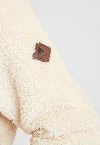 Burton - LYNX HOOD - Fleece jumper - creme brulee - 5