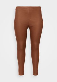 ONLY Carmakoma - CARARGAIN - Leggings - argan oil - 3