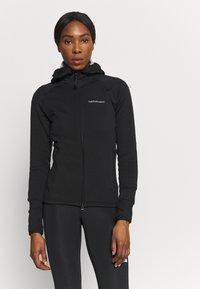Peak Performance - CHILL ZIP HOOD - Fleece jacket - black - 0