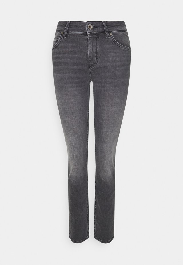 ALBY STRAIGHT - Jeansy Slim Fit - commercial black wash