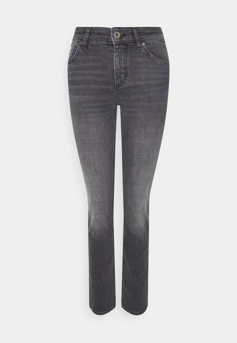 Marc O'Polo - ALBY STRAIGHT - Slim fit jeans - commercial black wash