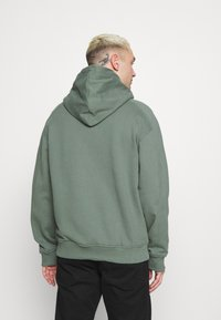 Calvin Klein Jeans - MICRO BRANDING  - Luvtröja - duck green - 2
