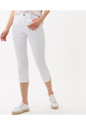 STYLE MARY C - Slim fit jeans - white