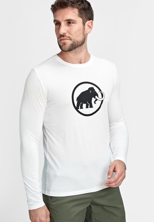 LOGO LONGSLEEVE - Long sleeved top - bright white