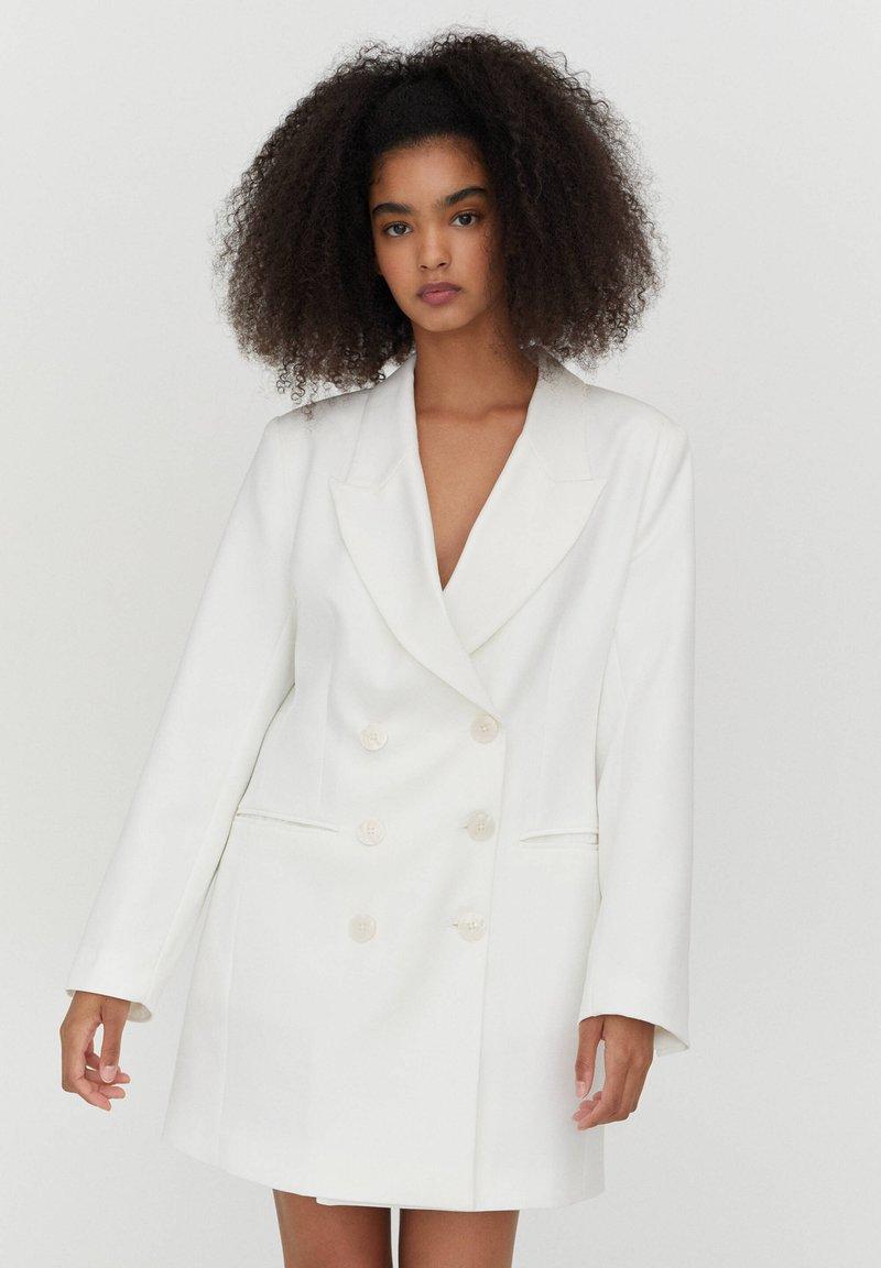 PULL&BEAR - Blazer - white