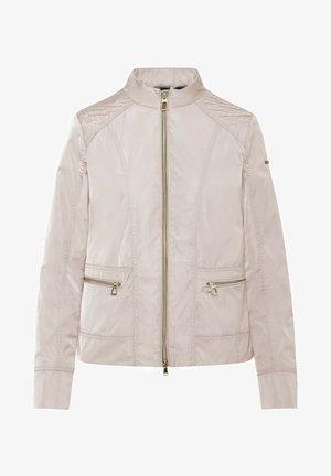 Faux leather jacket - rose dust