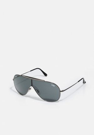 WINGS UNISEX - Sunglasses - shiny silver