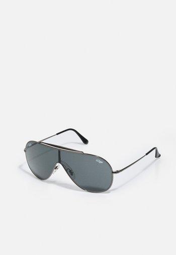 WINGS UNISEX - Sunglasses - shiny silver
