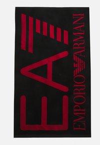 EA7 Emporio Armani - SEA WORLD VISIBILITY TOWEL - Bath towel - nero - 0