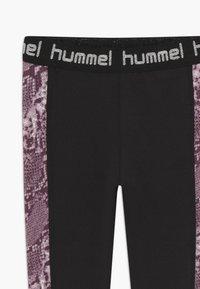 Hummel - NANNA TIGHTS - Punčochy - black - 3