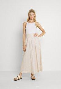 Monki - Maxi skirt - white - 1