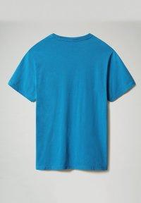 Napapijri - SALIS - T-shirt basic - mykonos blue - 4