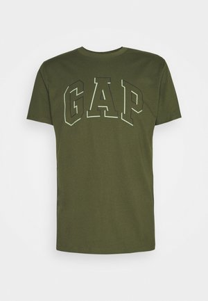 RAISED ARCH - T-shirt med print - army jacket green