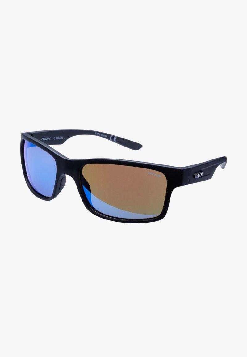Icon Sport - STORM - Sportbril - black/blue
