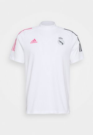 REAL MADRID FOOTBALL SHORT SLEEVE  - Klubové oblečení - white