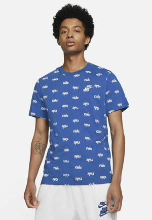 T-shirt med print - game royal