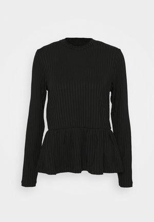 FOCUS - Bluzka z długim rękawem - black
