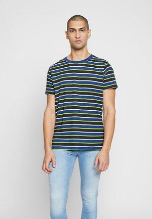JCORELIEF TEE CREW NECK - T-shirts print - navy peony