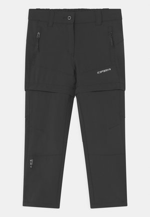 KANO 2-IN-1 UNISEX - Outdoor trousers - anthracite