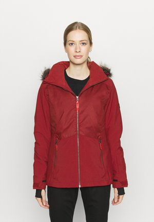 HALITE JACKET - Snowboard jacket - rio red