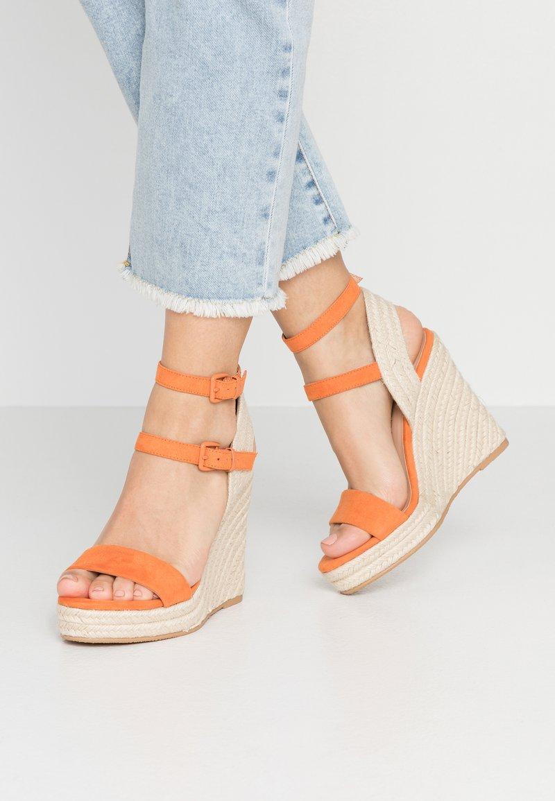 Even&Odd - Sandalen met hoge hak - orange