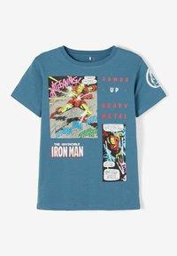 Name it - MARVEL SUPERHERO - Print T-shirt - real teal - 3